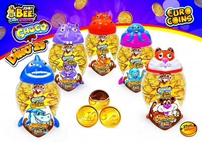 Choco Euro Coins Dino 2.9 гр