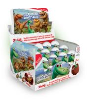 """Шоколадное яйцо с сюрпризом """"Добрый динозавр"""" 20 грамм"""