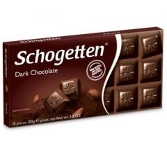 Schogetten Dark Chocolate Темный шоколад, 100 г