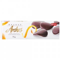 "CARLETTI Orange arches ""Шоколадные лепестки с ароматом апельсина"" 75 гр"