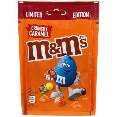 Шоколадное драже M&Ms Crunchy Caramel 109гр