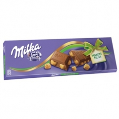 Milka Шоколад Whole Nuts 250 гр