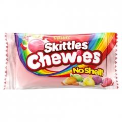 Жевательные конфеты Skittles Chewies без скорлупы 38 гр
