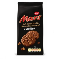 Печенье Mars soft Baked Double Chocolate&Caramel 162гр