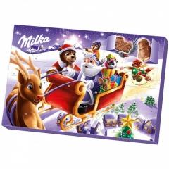 Конфеты Milka Advents kalender (новогодний) 200 гр