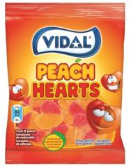 Мармелад Vidal Персиковые сердечки 100 гр