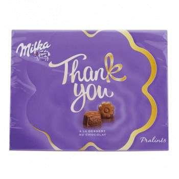 Набор шоколадных конфет Mika Thank You 120g