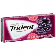 Trident Gum Black Raspberry Twist