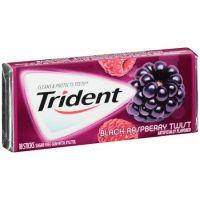 Trident Gum Black Raspberry Twist