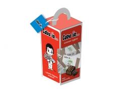LOVE IS Набор конфет со вкусом шоколада 128гр