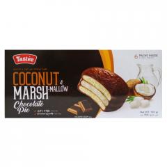 Пирожные в шоколадной глазури с кокосом Coconut and Marshmallow Choco Pie Tastee 150 г