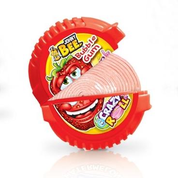 Johnny Bee Crazy Roll (жевачка) 18 гр