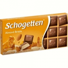 Молочный шоколад Schogetten Almond Brittle (100 грамм)