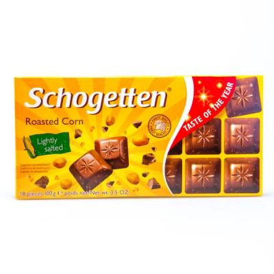 Шоколад Schogetten Roasted Corn (100 грамм)