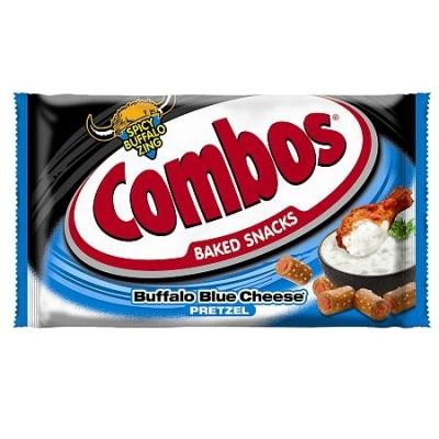 Снэк Combos Buffalo Blue Cheese 51 гр