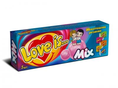 Love is жев. резинка Ассорти 21 гр