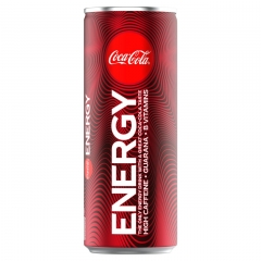 Coca Cola Energy 250ml ж/б