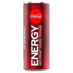 Coca Cola Energy 250ml ж/б