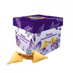 Печенье с предсказаниями-комплиментами в коробке 36гр