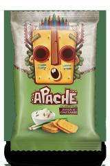 Крекер Apache (Армения)/Апачесо со вкусом Лука и Сметаны 35 гр
