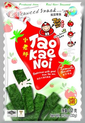 TAOKAENOI Crispy Seaweed (Tomato Sauce Flavour) 32g