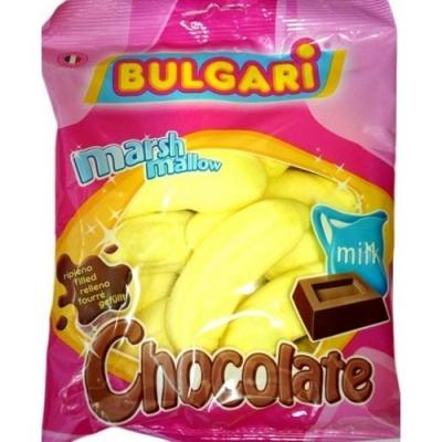 """Суфле """"Банан с шоколадной начинкой"""" 150грамм /BULGARI/Италия"""