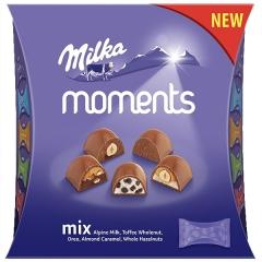 Шоколадные конфеты Mix Moments Milka 97 гр