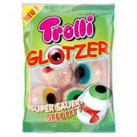"""Марм.жев. фас.""""Глаза с супер кислой жидкой клубничной начинкой"""" 75грамм /TROLLI/Германия"""