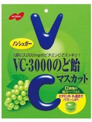 "Nobel леденцы ""VC-3000"" с витамином C, со вкусом зеленого винограда 90 гр"