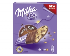 Milka Печенье Куки Снекс 137,5 гр