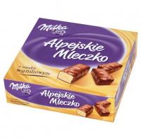 Milka Alpine Milk Vanilla Cream (330 грамм)