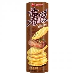 """Чипсы """"Хао Ли Ю"""" со вкусом говядины и вина 104 гр"""