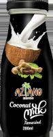 Кокосовое молоко Aziano с соком Таморинда (Coconut milk tamarind juice) 280 мл