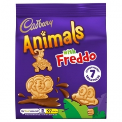 Cadbury Animals with Freddo 139,3 гр
