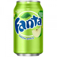 Fanta Green Apple ж/б 355мл