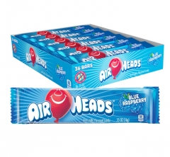 Жевательная конфета Airheads со вкусом Голубики 15,6гр