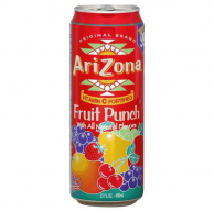 Напиток Arizona Fruit Punch 0,34л