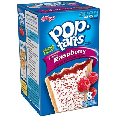 Печенье Pop Tarts 8 PS Frosted Raspberry 416 грамм