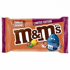 Драже M&Ms Crunchy Caramel 36гр