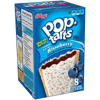 Печенье Pop Tarts 8 PS Frosted Blueberry 416 грамм
