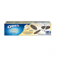 Oreo Thins Vanilla Delight Chocolate Sandwich Cookies 95гр