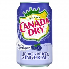 CANADA DRY Ежевика 0,355 ml