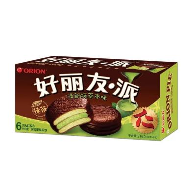 Пирожное Orion Pie Green Tea 216 гр