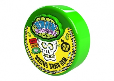 Жвачка Brain Blasterz Brain Gum в дозаторе