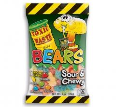 Жевательный мармелад Toxic Waste Bears 142 гр