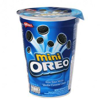 Печенье Oreo mini vanilla cookies (67 грамм)
