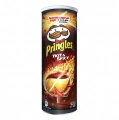 Чипсы Pringles Острые и Пряные чипсы  (Hot & Spicy) 107 гр