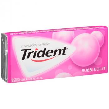 Trident Gum Bubblegum