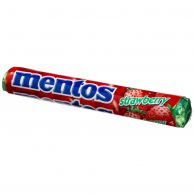 """Жевательная конфета """"Ментос со вкусом Клубника"""" (Mentos Strawberry) 37.5 гр"""