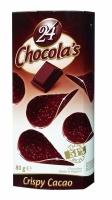 Шоколадные чипсы Chocola's Crispy Cacao (Горький Шоколад) 80гр